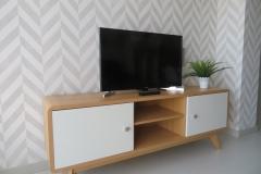 Mueble televisión comedor apartamento II Alcañiz Flats