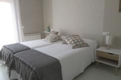 Habitación doble apartamento II Alcañiz Flats