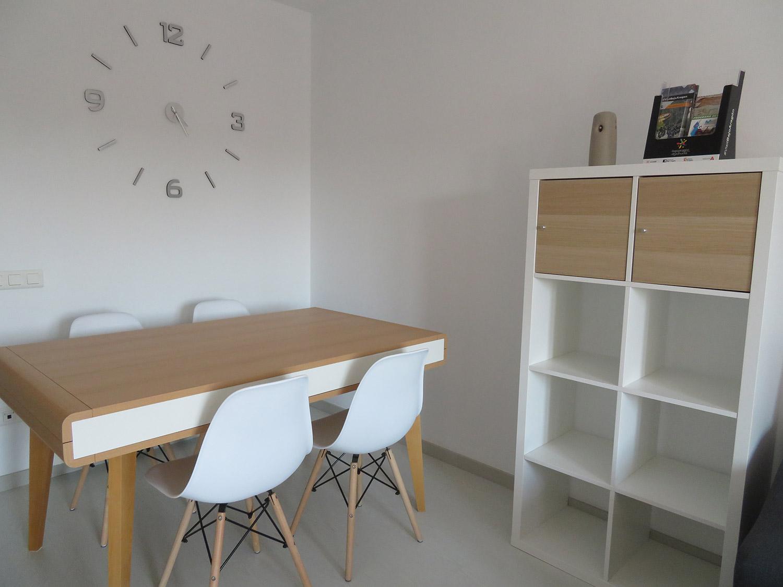 Mesa comedor y sillas apartamento I Alcañiz Flats
