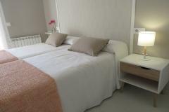 Habitación doble apartamento I Alcañiz Flat