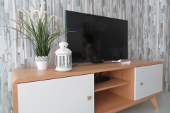 Mueble televisión comedor apartamento I Alcañiz Flats