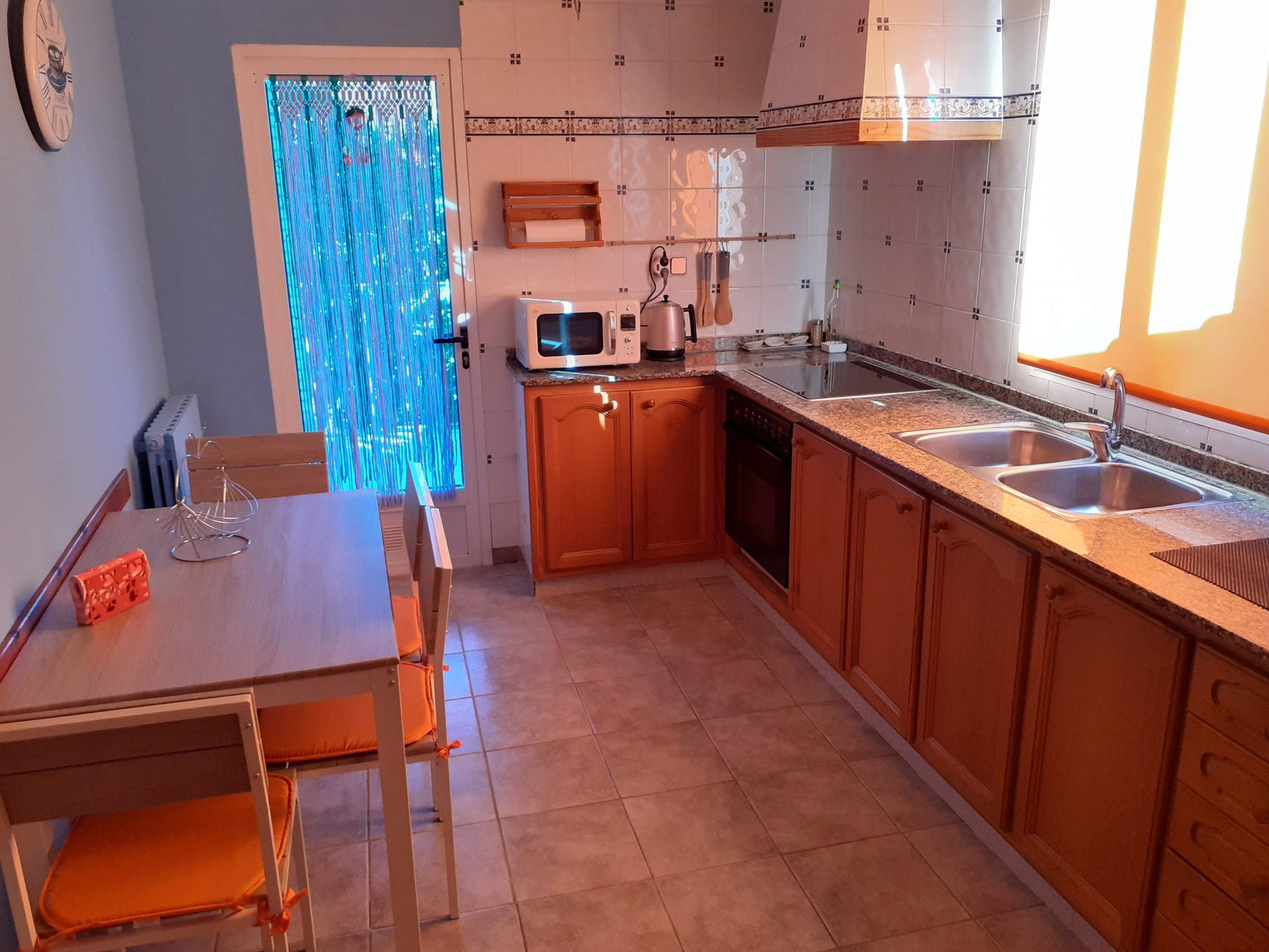 Cocina apartamento Casa La Parra Aurea