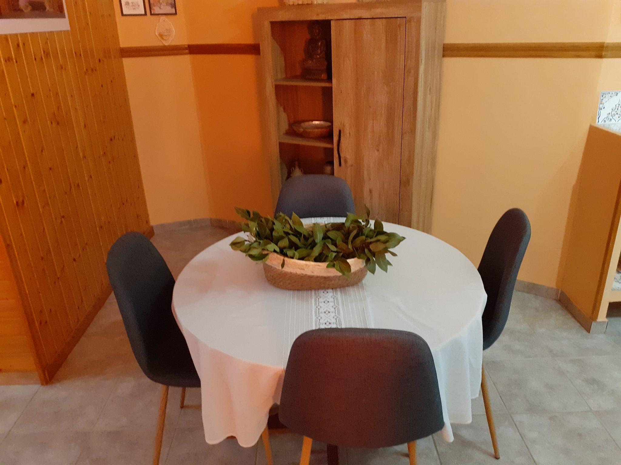 Comedor apartamento Casa La Parra Aurea