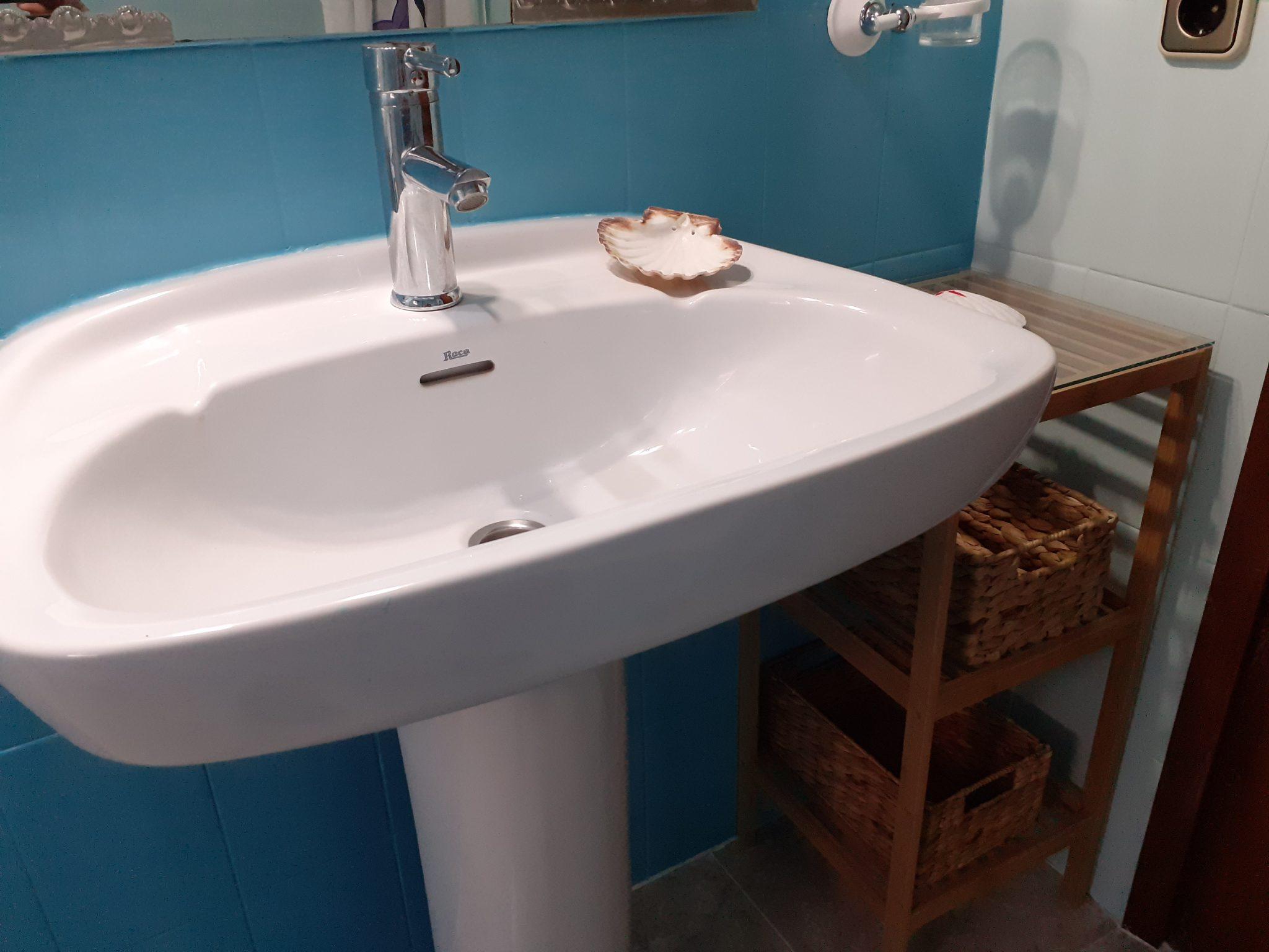 Baño apartamento Casa La Parra Aurea