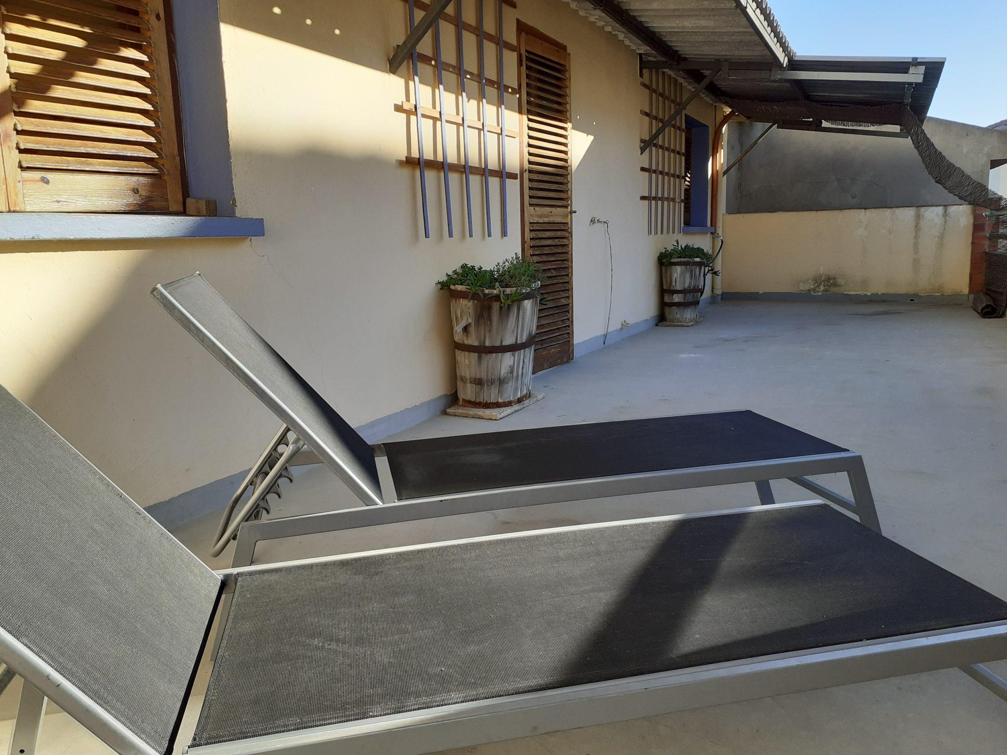 Terraza apartamento Casa La Parra Aurea