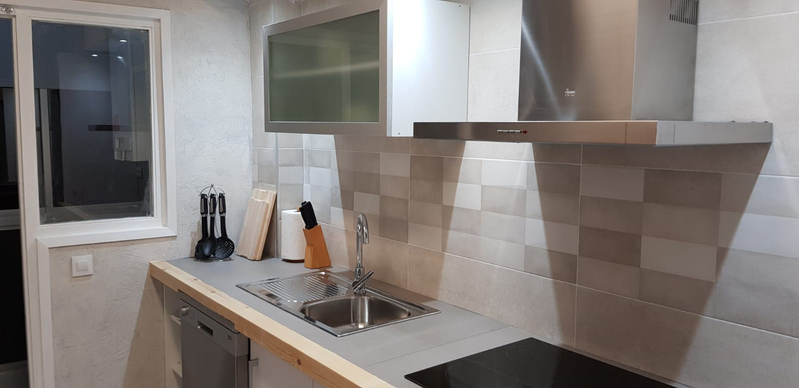 Cocina apartamento Casa Pilarcho